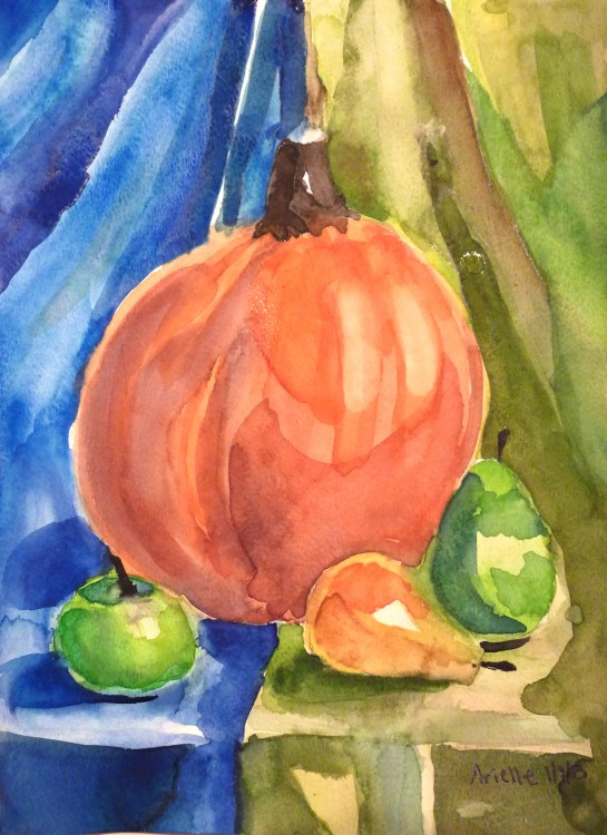 Still Life Watercolor